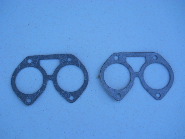 LANCIA FULVIA COUPE,SEDAN 1.1 TO 1.3HF CARBURETORS TO AIRBOX GASKET SET.