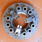 LANCIA FULVIA S1,SEDAN,COUPE 1.1,1.2,1.2HF.2C CLUTCH COVER NEW.180MM