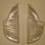 Lancia Fulvia S2 Sedan Rear Reverse Lenses New.