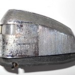 Lancia Flavia 819 mille Otto license plate lights used in very good condition set 2.