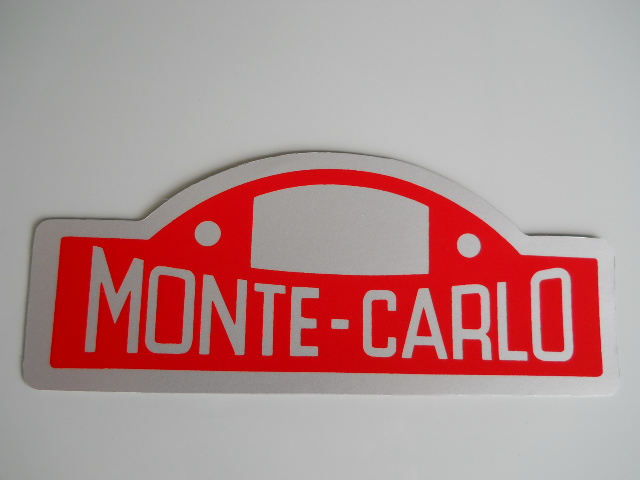 LANCIA FULVIA MONTE CARLO Decal, Stickers
