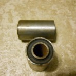 Lancia Fulvia all, Appia, Flavia s1,s2 New Rear Sleeve bushing set. Part 2049637