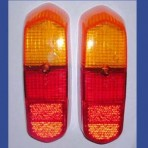 Lancia Fulvia Sport,Zagato S1 Rear Tail Lamps Leses New Set.