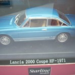 LANCIA 2000 COUPE' HF 1971 BLUE VINCENNES