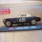 MILLE MIGLIA LANCIA D20 1953 SCALA 1