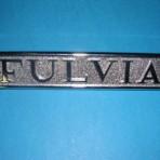 Lancia Fulvia S3, REAR (FULVIA) LETTERS