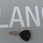 Lancia Fulvia,Flavia,Appia S1 Ingition Door Key Blank