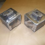 LANCIA FULVIA SEDAN, COUPE+ZAGATO.STEEL SUB-FRAME MOUNTING BOXES