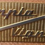 Lancia Appia Vignale Emblem New Metal