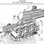Lancia Aurelia B20,B24 Valve Cover Gaskets