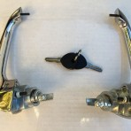 Lancia Fulvia S1,S2 Coupe/Sport S1 New Outer Handles With Locks & Keys